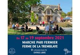 PARI FERMIER – FERME DE LA TREMBLAYE SEPTEMBRE 2021